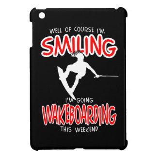 SMILING WAKEBOARDING Weekend 1 WHITE iPad Mini Covers