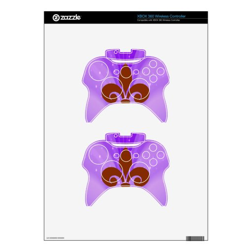 Smiling Wave Xbox 360 Controller Decal