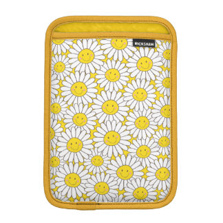 Smiling White Daisies Rickshaw iPad Mini Sleeve