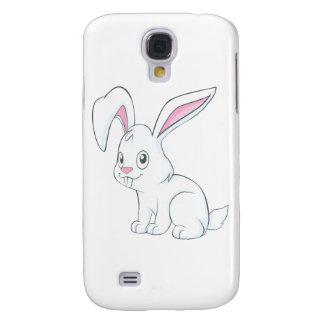 Smiling White Rabbit Samsung Galaxy S4 Case
