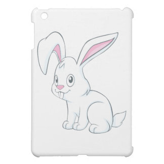 Smiling White Rabbit Cover For The iPad Mini