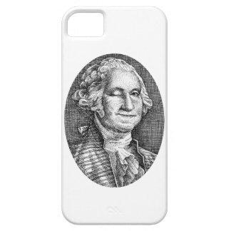Smiling Winking George Washington iPhone 5 iPhone SE/5/5s Case