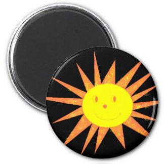 Smilling Sun magnet