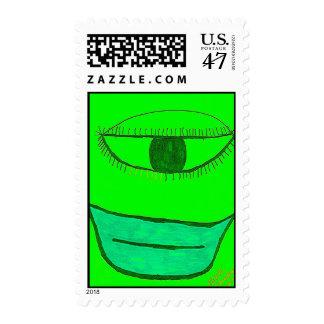 """""""Smil'n  Slim"""" Postage Stamp"""