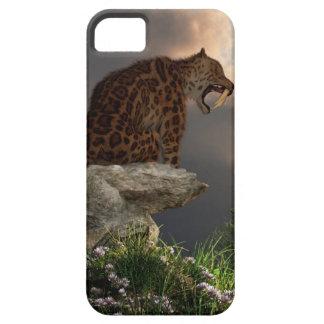 Smilodon Californicus Lookout iPhone SE/5/5s Case