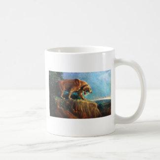 smilodon coffee mug
