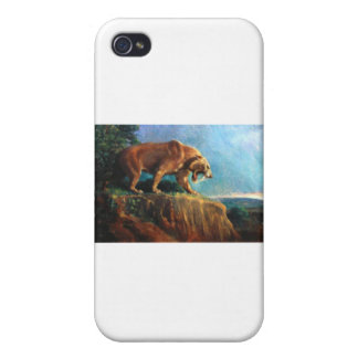 smilodon cover for iPhone 4