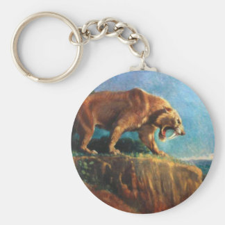 smilodon key chain