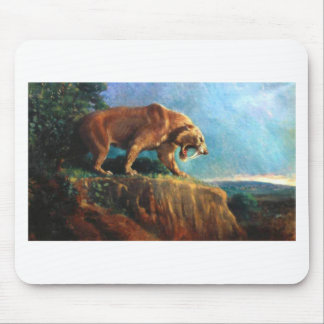 smilodon mouse pad