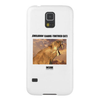 Smilodon (Sabre-Toothed Cat) Inside Cases For Galaxy S5