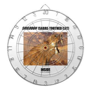 Smilodon (Sabre-Toothed Cat) Inside Dart Boards