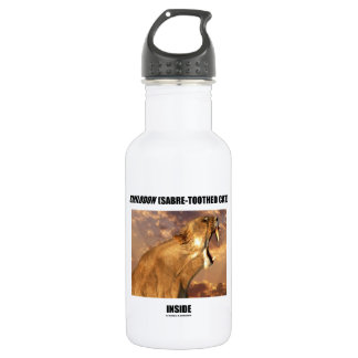 Smilodon (Sabre-Toothed Cat) Inside 18oz Water Bottle