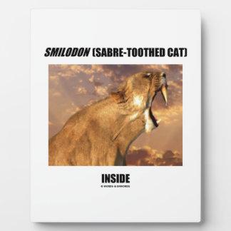 Smilodon (Sabre-Toothed Cat) Inside Plaque