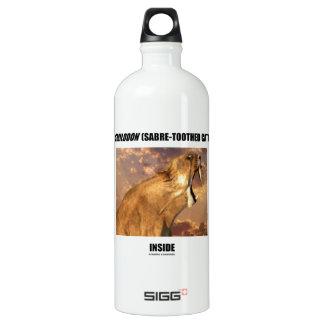 Smilodon (Sabre-Toothed Cat) Inside SIGG Traveler 1.0L Water Bottle