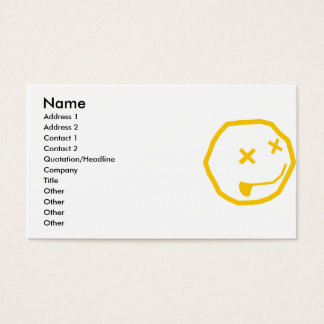SMILY BUSINESS CARD