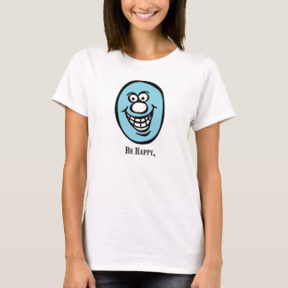 Smily Face (Be Happy) *Blue T-Shirt
