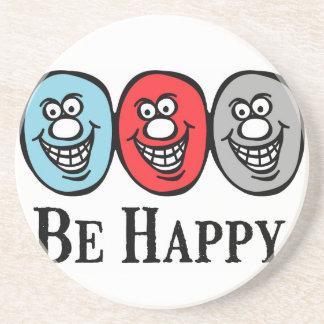 Smily Face (Be Happy) *Coaster Coaster