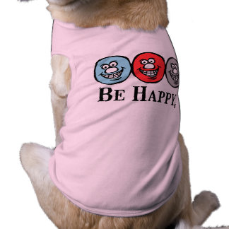 Smily Face (Be Happy) *Dog Pink Clothing