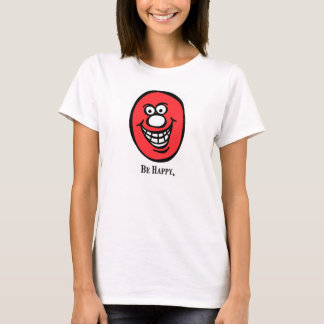 Smily Face (Be Happy) *Pink T-Shirt