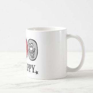 Smily Face (Be Happy) *white mug