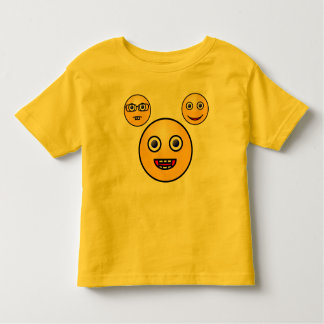 SMILY FACES TODDLER T-SHIRT