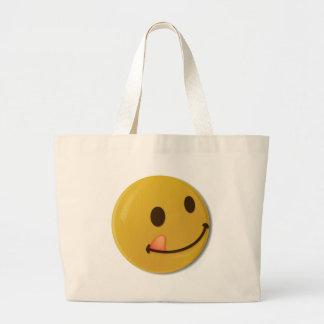 SMILY LARGE TOTE BAG