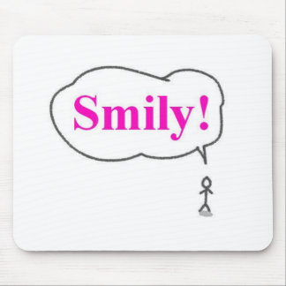 smily mouse pad