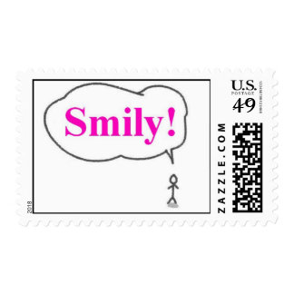 smily postage stamps