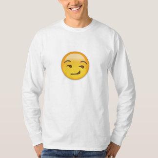 Smirking Face Emoji T-Shirt