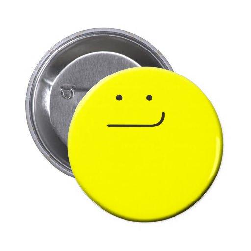Smirking Smiley Button