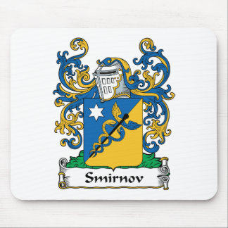 Smirnov Family Crest Mouse Pad