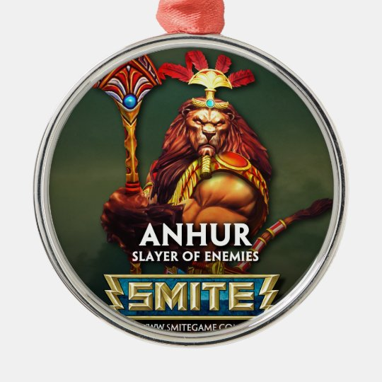 SMITE: Anhur, Slayer of Enemies Metal Ornament