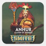 SMITE: Anhur, Slayer of Enemies Square Sticker