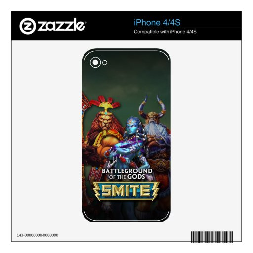 SMITE: Gods Decals For The iPhone 4S