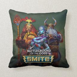 SMITE: Gods Throw Pillow