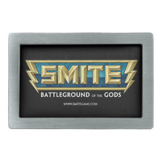 SMITE Logo Battleground of the Gods Belt Buckle