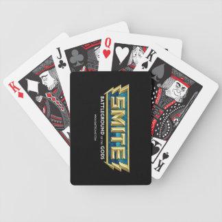 SMITE Logo Battleground of the Gods Bicycle Playing Cards