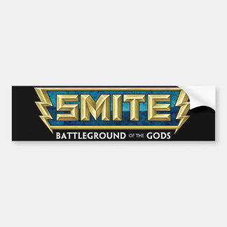SMITE Logo Battleground of the Gods Car Bumper Sticker