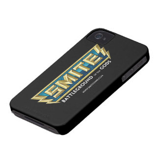 SMITE Logo Battleground of the Gods iPhone 4 Cases