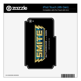 SMITE Logo Battleground of the Gods Decals For iPod Touch 4G