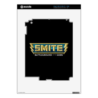 SMITE Logo Battleground of the Gods iPad 2 Decal
