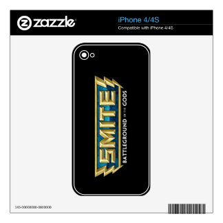 SMITE Logo Battleground of the Gods iPhone 4 Decal