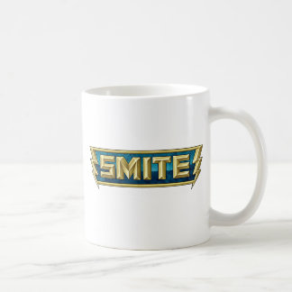 SMITE Logo Battleground of the Gods Classic White Coffee Mug
