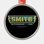 SMITE Logo Battleground of the Gods Ornaments