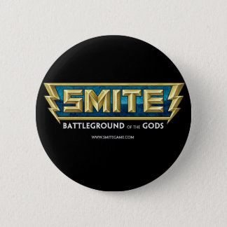 SMITE Logo Battleground of the Gods Pinback Button