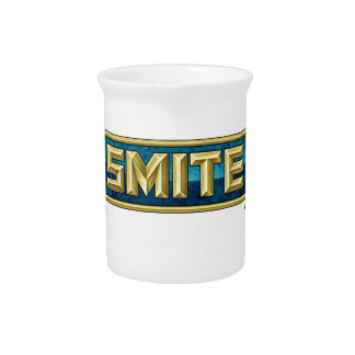 SMITE Logo Battleground of the Gods Pitcher