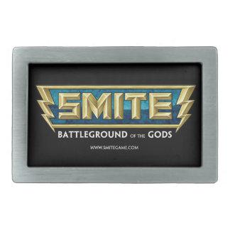 SMITE Logo Battleground of the Gods Rectangular Belt Buckles