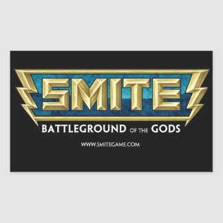 SMITE Logo Battleground of the Gods Rectangular Sticker