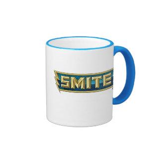 SMITE Logo Battleground of the Gods Ringer Mug