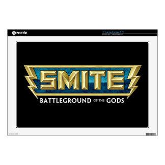 "SMITE Logo Battleground of the Gods Skin For 17"" Laptop"